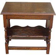 American Antique Magazine Stand Antique Side Table Antique Side Stand