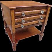 American Antique Silverware Cabinet Antique Side Cabinet Work Stand Antique Furniture