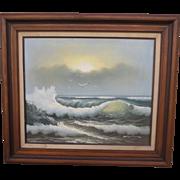 Oil On Canvas Framed Oil Painting