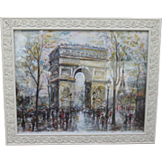 Framed Pairs France Watercolor Framed Picture