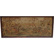 French Antique Tapestry French Antique Framed Tapestry