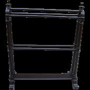 American Antique Victorian Quilt Stand Antique Quilt Rack Antique Furniture