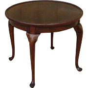 English Antique Queen Ann Side Table Antique Coffee Table Lamp Stand Antique Furniture