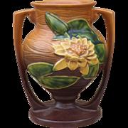Original Roseville Pottery Vase Water Lily 91-8