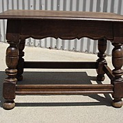 Spanish Antique Coffee Table Antique Side Table Lamp Table