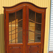 French Antique Bookcase Display Cabinet China Cabinet Antique Furniture