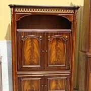 Vintage Dutch Made Walnut TV Cabinet