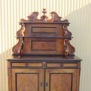 German Antique Biedermeier Server Sideboard Cabinet Hutch Furniture