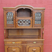 French Antique Hutch Buffet Sideboard Server Cabinet Antique Furniture