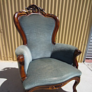 Antique Victorian Arm Chair Victorian Antique Living Room Furniture