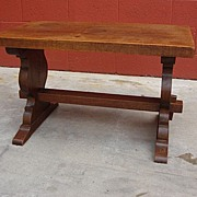 French Antique Rustic Furniture french Antique Rustic Coffee Table Bench