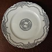 Antique French Limoges Art Nouveau Plate Haviland