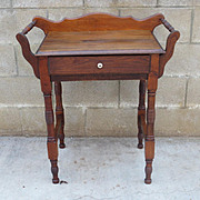 American Antique Side Stand Primitive Country Furniture Antique Washstand Antique Furniture