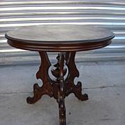 Antique Furniture American Victorian Antique Furniture Victorian Round Table Side Table Lamp .