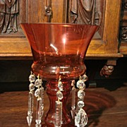 Vintage Cranberry Luster