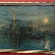 Beautiful Original Antique Print