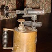 Antique Brass Blow Torch
