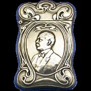 Frank C. Roundy/Oriental Consistory match safe, Scottish Rite of Freemasonry, By Whitehead & .
