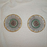 Two Dahl Jensen Crackle Small Dishes