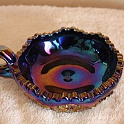 Imperial Glass Candy Dish (Diamond Lace Pattern)