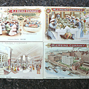 SALE Vintage Heinz 57 Company Advertising Centennial Post Card Cards (4)