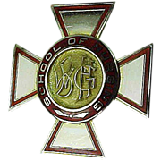 10k Gold 1954 Wilkes-Barre General Hospital School of Nursing Pin