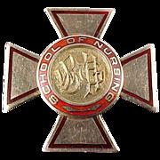 10K Gold Wilkes-Barre General Hospital Nursing Pin