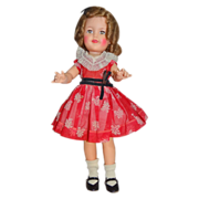 """Pretty 1959 Ideal Shirley Temple 17"""" Doll Great Condition"""