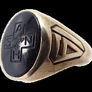 1961 Allentown Hospital School of Nursing 10k Gold Ring