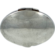 SOLD Mexico Sterling Silver Pill Box