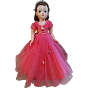 """SALE Madame Alexander Story Princess 18"""" Cissy Doll 1950's"""