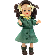 "8"" Terri Lee Hard Plastic Girl Scout Doll 1950s"
