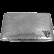 1930's U.S. Navy Sterling Silver Cigarette Case