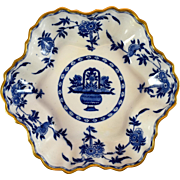 MINTON Delft nappy or scalloped tray #G1613