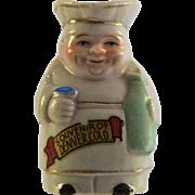 "JAPAN Chef Toby Jug 2"" Souvenir of Denver"