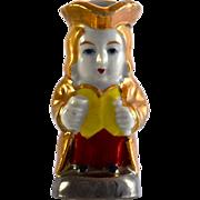 """JAPAN gold luster Toby Jug 2.5"""""""