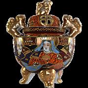 JAPAN Moriage incense burner or censer