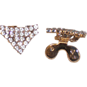 MUSI Shoe Clip – Crystal Clear Austrian Crystal Rhinestones with Silver Plating