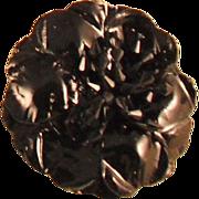 MUSI Shoe Clip – Black Patent Leather Flower
