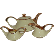 REDUCED Yellow Aladdin Tea Set Made by Pearl China Co.