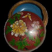 REDUCED Cloisonné Trinket Box
