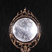 Vintage Double Sided Mirror with Short Handle by MUSI