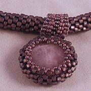 Light Purple (Lavender) Seed Bead Necklace