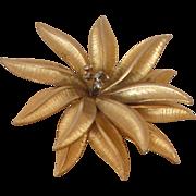 SALE Vintage Flower Pin Brooch