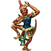 Temple Dancer Pin by Art