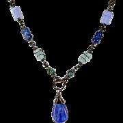 Rustic Blue Kyanite Necklace