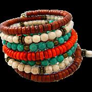 Boho Turquoise Stacked Bracelet