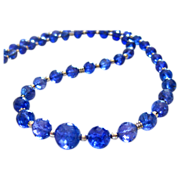 SALE Rare-115ct Tanzanite-14k White Gold-Diamond Clasp-18in Simply Elegant One of a Kind Neckl
