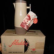 SALE Vintage Aladdin Vacuum Pitcher- #P4450