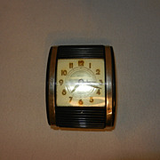 SOLD Vintage Westclox Travel Alarm